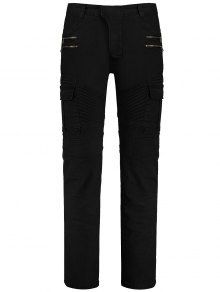 Zips Cargo Pants with Multi Pockets