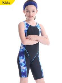 Patterned Cut Out Snorkeling Swimwear