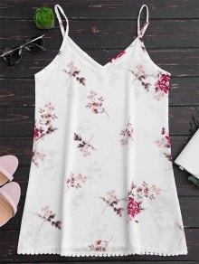 Floral Print Cami Shift Dress