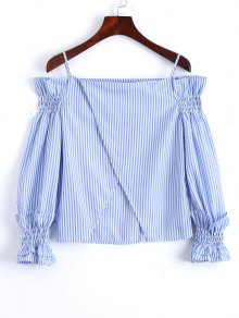 Crossover Back Off The Shoulder Top