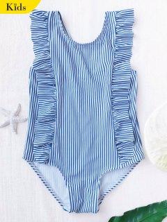 تكدرت مخطط طفل ملابس السباحة - شريط 6t
