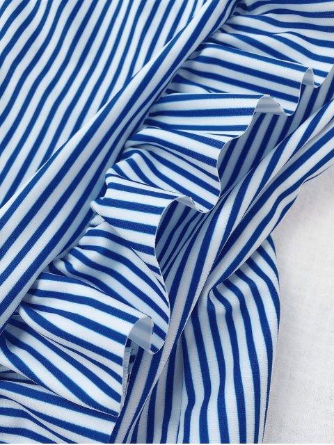 buy Ruffled Striped Kid Swimwear - STRIPE 6T Mobile