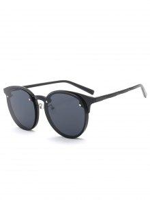 نظارات شمسية تصميم مكافحة الأشعة فوق البنفسجية أومبير - أسود