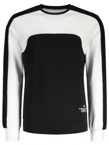 Sweat Noir En Coton Pour Les Hommes  - Noir Xl