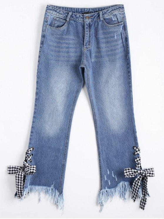 Chaussures à lacets - Denim Bleu S