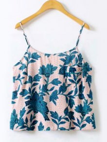 Floral Printed Cami Top - Floral L