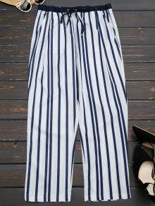 Stripes Narrow Feet Ninth Pants - Stripe M