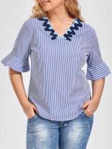 Bordado Patched Stripes Talla Grande - Raya 3xl