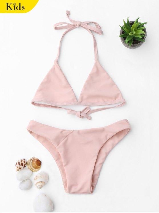 Juego de bikini para niñas - Rosa 6T