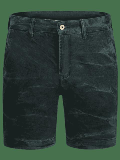 women's Mens Denim Bermuda Shorts - BLUE GREEN 32 Mobile