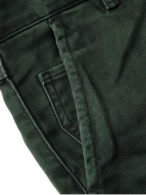 outfit Mens Carrot Fit Ninth Jeans - GREEN 34 Mobile