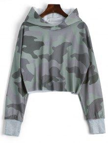 Sweat à Capuche De Camouflage à épaule - Camouflage Xl