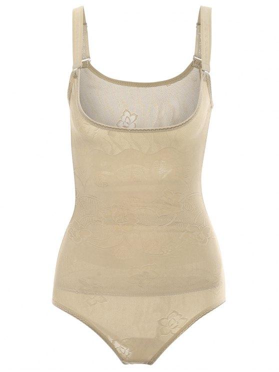 Tummy Control Corset Bodysuit Body Shaper - Teint S
