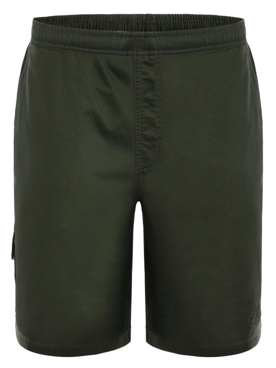 Side Pockets Cargo Bermuda Shorts - Vert Armée L