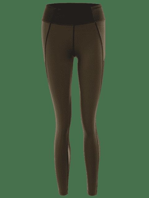Collier de jambières longues - Vert Olive   S Mobile
