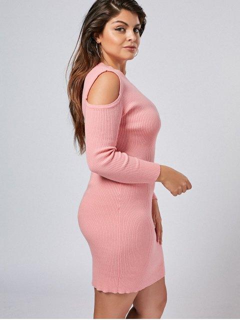 Robe à manches courtes à manches longues - ROSE PÂLE XL Mobile