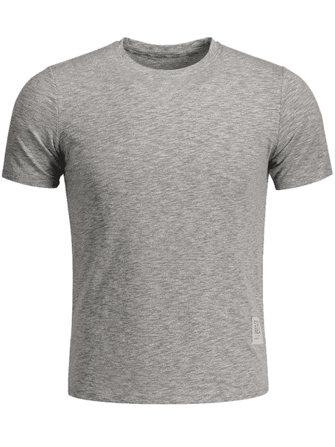 outfit Mens Space Dye Sweat Top - GRAY M Mobile