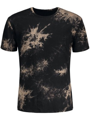 Short Sleeve Tie-Dyed Tee