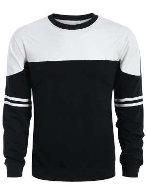 Mens Two Tone Sweatshirt