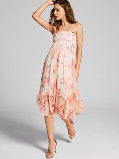 Floral Empire Waist Cami Dress - Floral