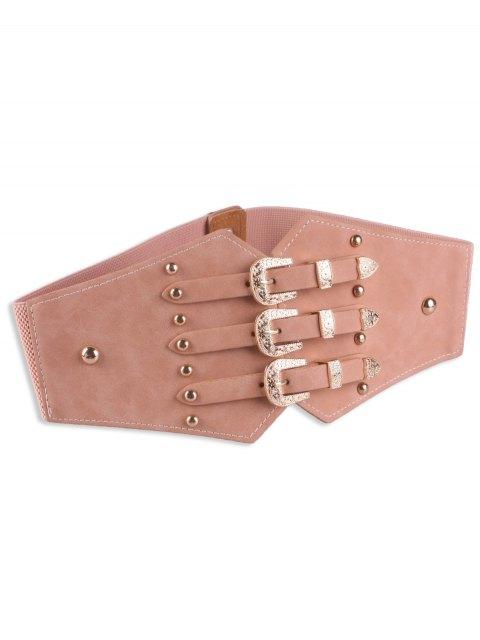 Boucle de corset en métal avec boucle rétro métal - ROSE PÂLE  Mobile