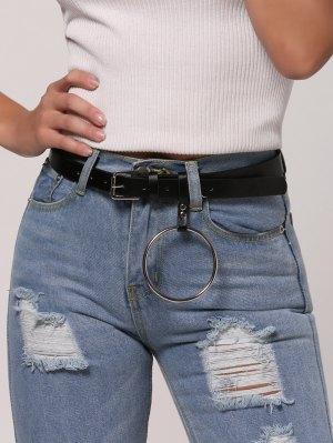Hoop Pin Buckle Belt