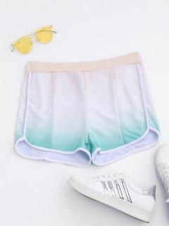 Ombre Running Shorts - 2xl