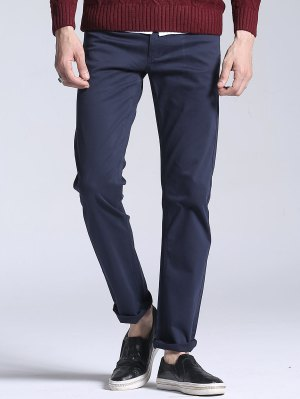 Slim Fit Stretch Casual Pants