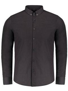 Chemise Boutonnée - Noir Xl