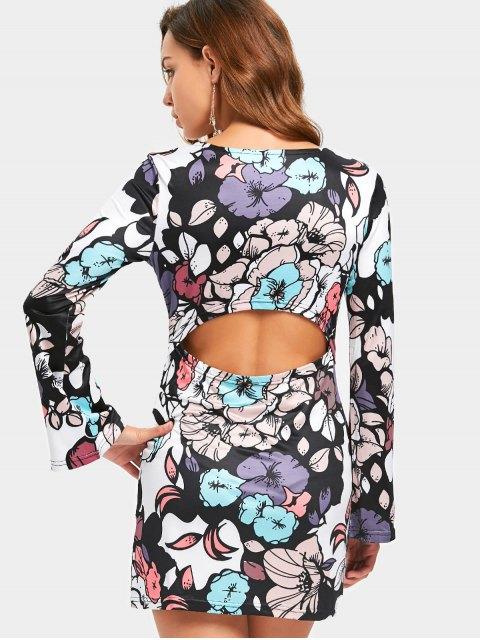 Robe imprimée à motifs floraux miniature - Floral L Mobile