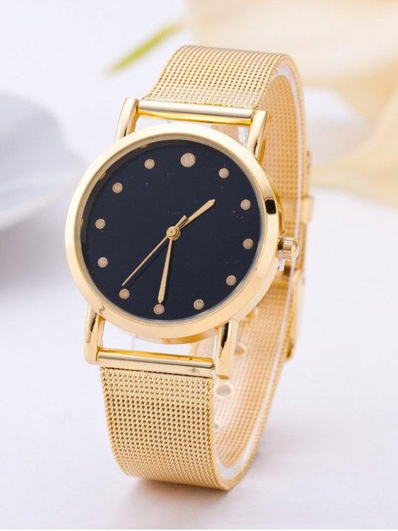 Vintage Quartz Analog Watch - GOLDEN  Mobile