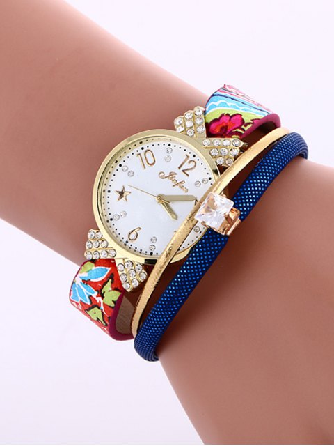 ladies Faux Leather Wrist Watch -   Mobile
